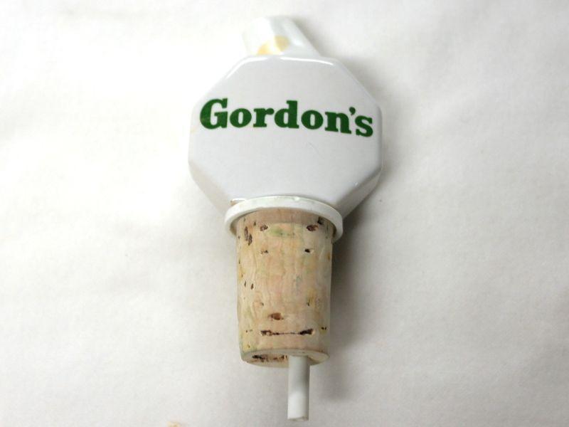 画像3: パブ ウィスキーボトル ストッパー&注ぎ口 GORDON'S(ゴードン)