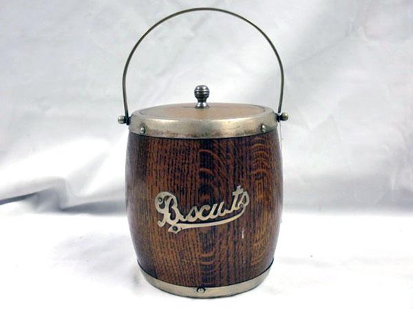 画像4: アイス バレル/ビスケット バレル(樽型容器)