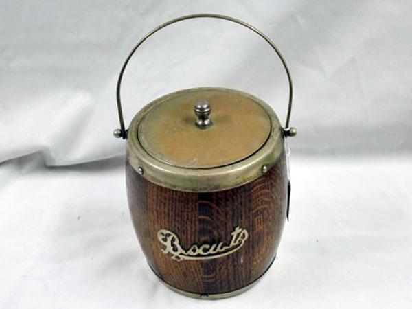 画像2: アイス バレル/ビスケット バレル(樽型容器)