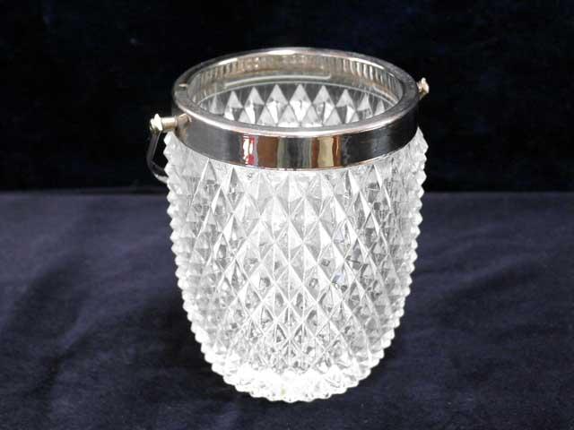 画像1: 氷入れ カットガラス