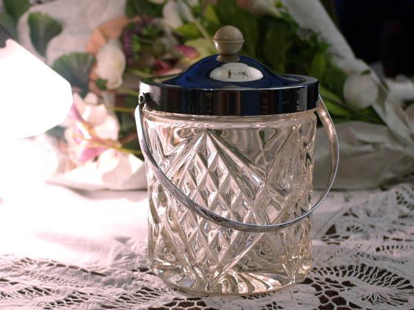 画像5: アイスバレル(氷入れ) カットガラス