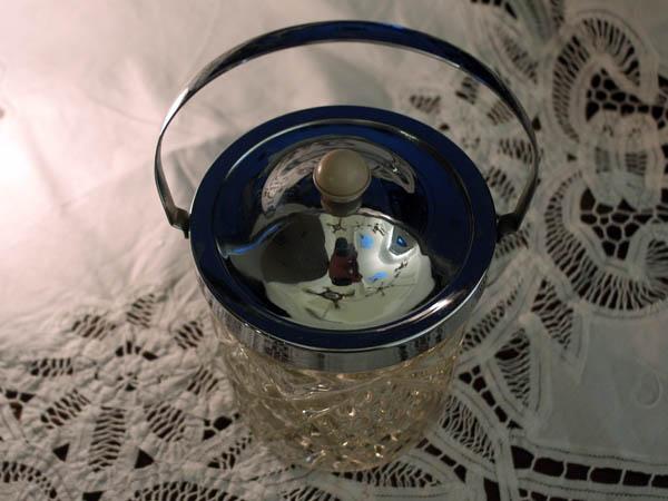 画像4: アイスバレル(氷入れ) カットガラス