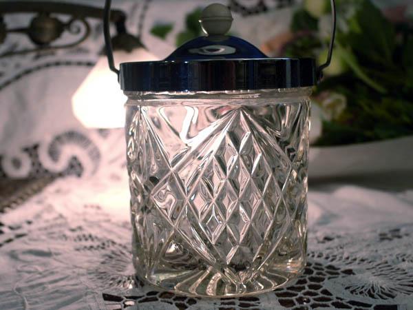 画像3: アイスバレル(氷入れ) カットガラス