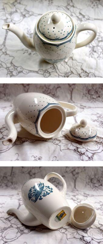 画像4: グレイ社Gray's Pottery デミ カップ&ソーサー5客+ジャグ+シュガーボール+ポット