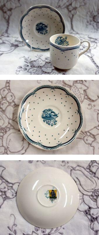 画像5: グレイ社Gray's Pottery デミ カップ&ソーサー5客+ジャグ+シュガーボール+ポット