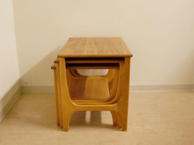 画像5: ミッドセンチュリー ネストテーブル