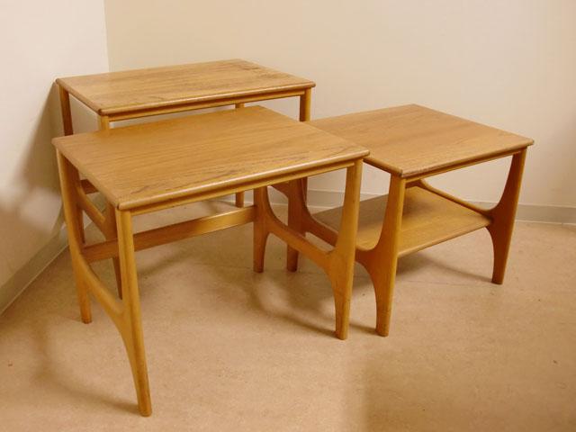 画像3: ミッドセンチュリー ネストテーブル