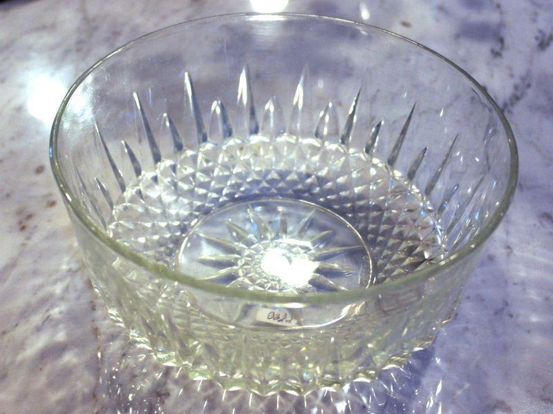 画像1: ガラス ボウル arcoroc(アルコロック)社製