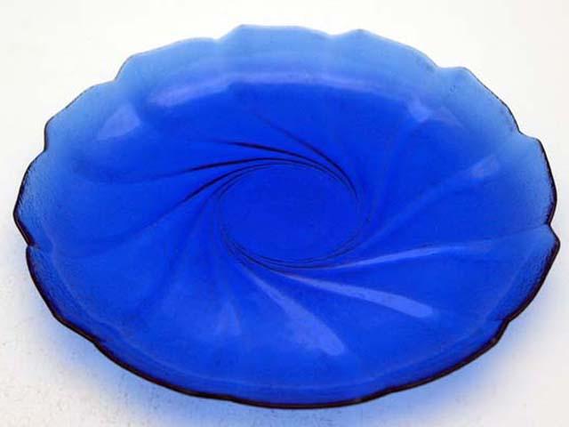 画像3: プレート ブルーガラス 1枚1200円