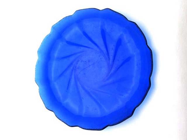 画像4: プレート ブルーガラス 1枚1200円