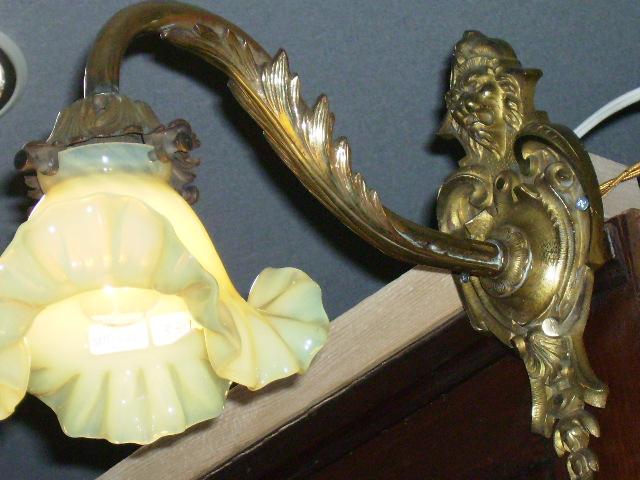 画像1: ウォール ランプ ブラケット