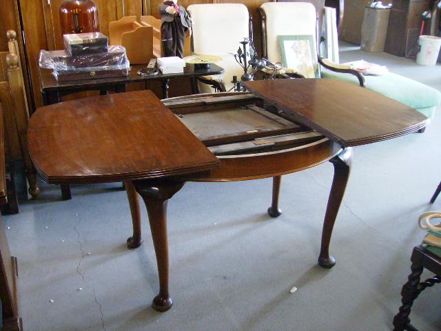 画像2: マホガニー テーブル(伸長式)