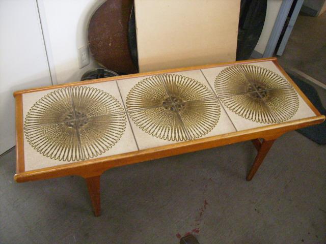 画像1: タイル入り テーブル