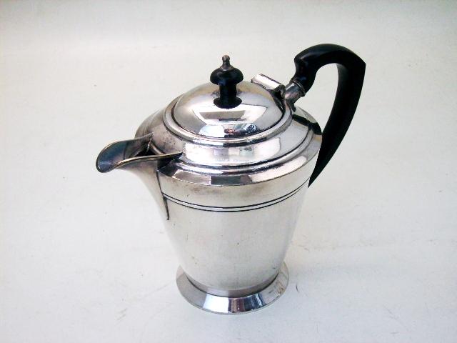 画像2: コーヒ ポット シルバープレート