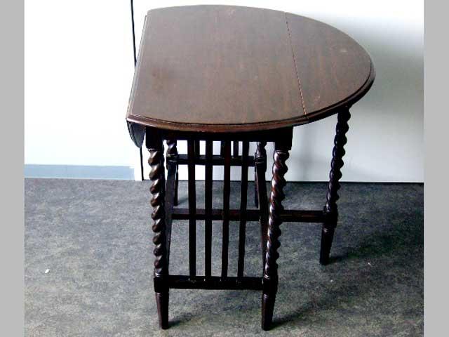 画像2: ゲートレッグ・テーブル