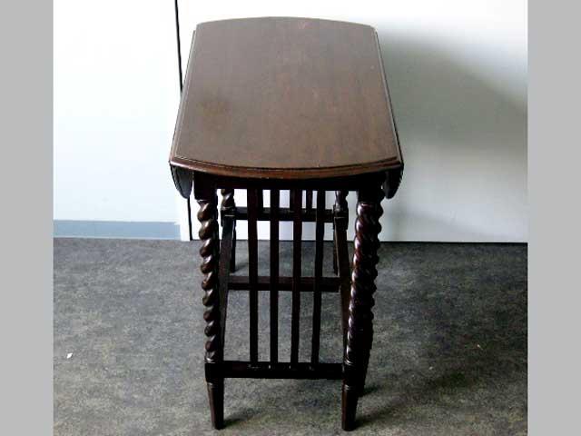 画像3: ゲートレッグ・テーブル