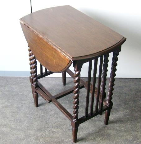画像4: ゲートレッグ・テーブル