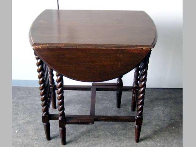 画像5: ゲートレッグ・テーブル