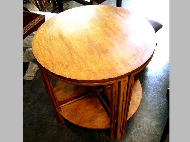 画像2: ネスト・テーブル(丸型) ミッドセンチュリー
