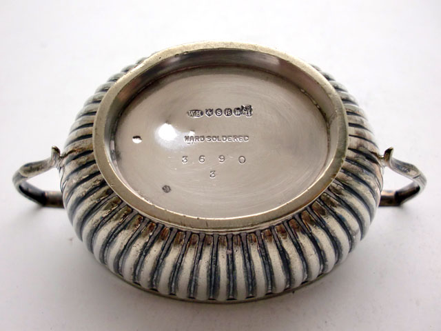 画像4: シルバープレート シュガーポット(小)