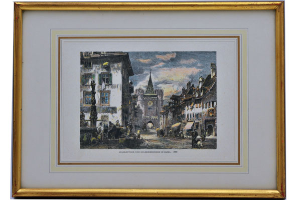 絵 欧州諸都市の風景(6) 雑貨(ホビー) 絵・額入り品