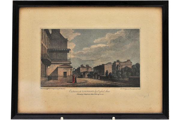 画像1: 絵 古ロンドン風景(3)