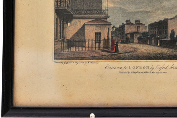 画像4: 絵 古ロンドン風景(3)