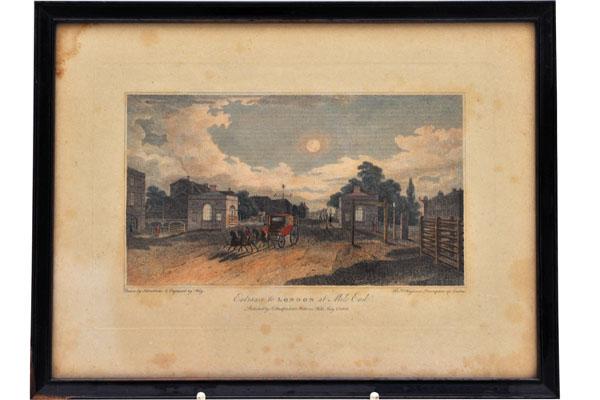 絵 古ロンドン風景(5) 雑貨(ホビー) 絵・額入り品