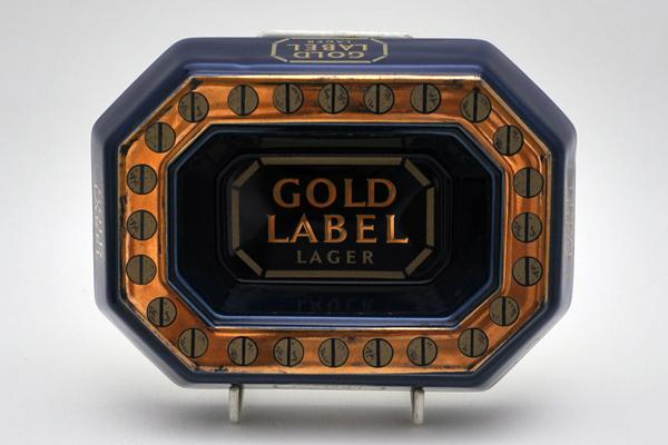 画像2: 灰皿 (Gold Label Beer)