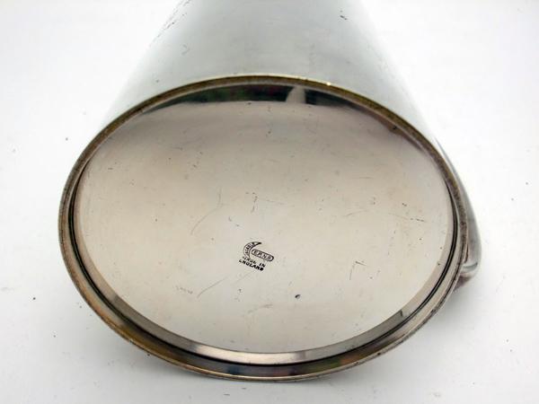 画像5: シルバープレート ビアマグ 1954年