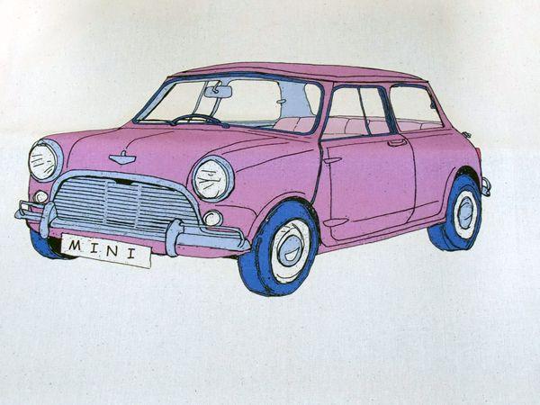 画像2: トートバッグ ミニ ピンク
