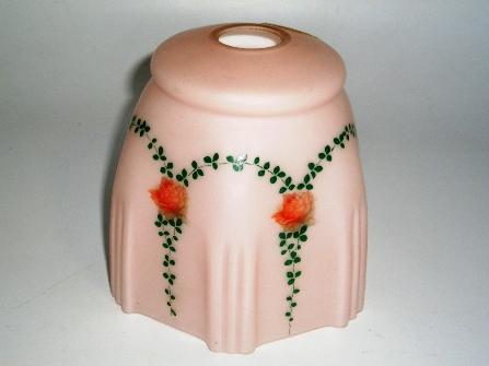 画像1: シェード ピンク・花柄 (458-SHD144とペア)