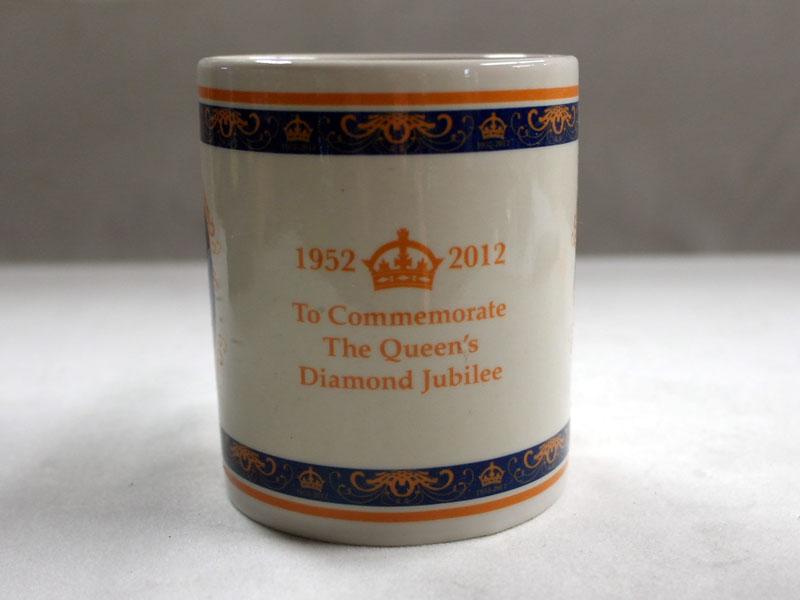 画像3: マグカップ エリザベス女王 Elizabeth II の即位 60 年記念 新品