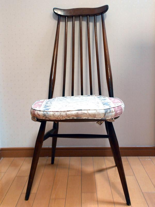画像1: アーコール(Ercol)チェア ゴールドスミスGoldsmith Windsor Chair クッション付