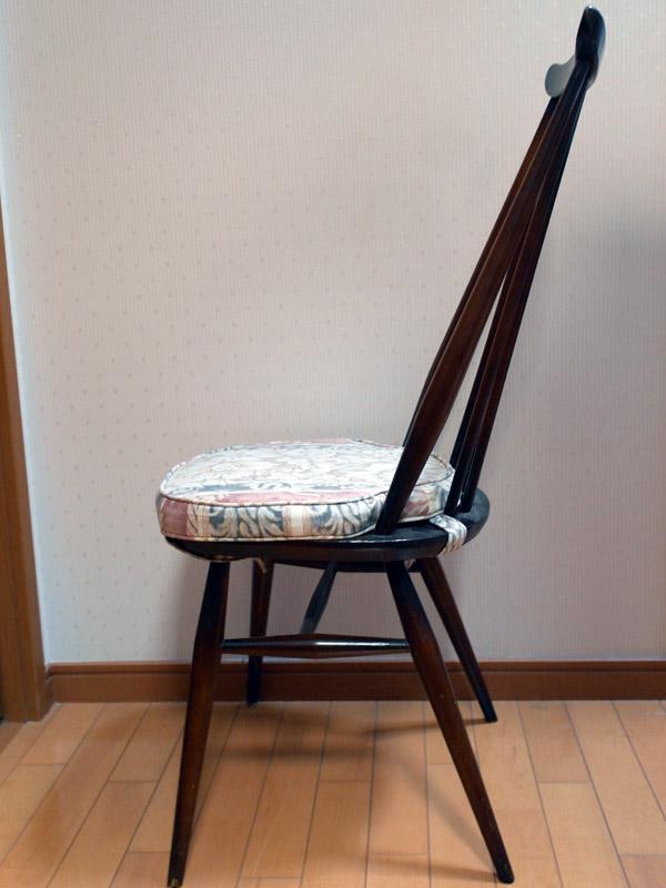 画像3: アーコール(Ercol)チェア ゴールドスミスGoldsmith Windsor Chair クッション付