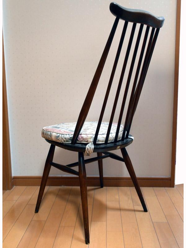 画像2: アーコール(Ercol)チェア ゴールドスミスGoldsmith Windsor Chair クッション付