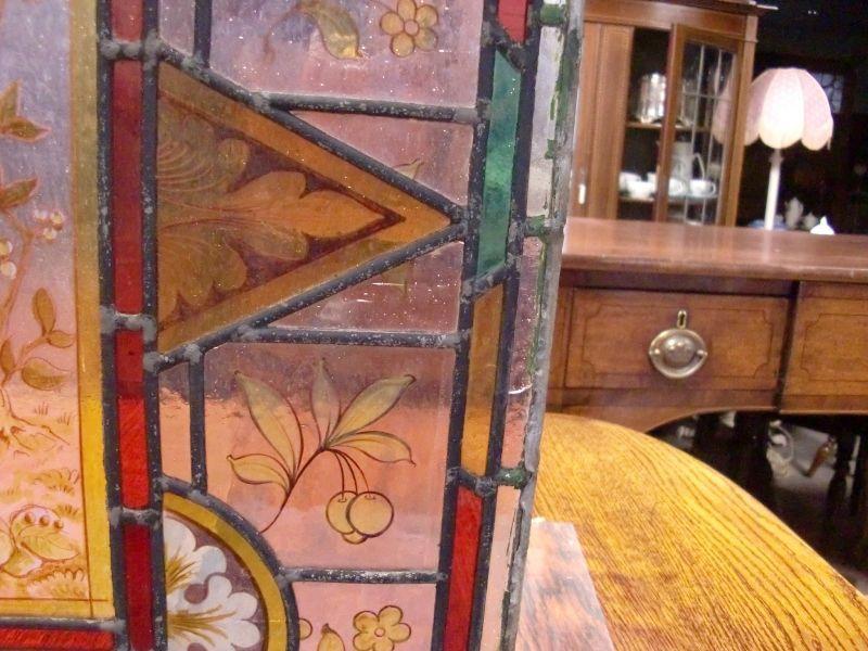 画像3: ステンドグラス (エナメル彩色の女性画付き) 1