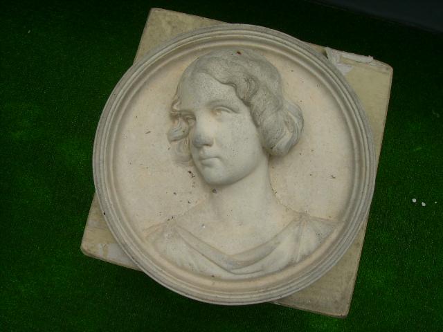 画像1: 壁飾り 女性