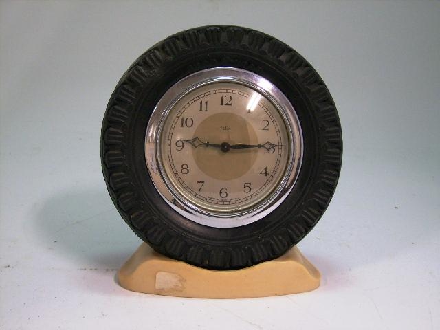 画像2: Smith 置時計(タイヤ型の枠)