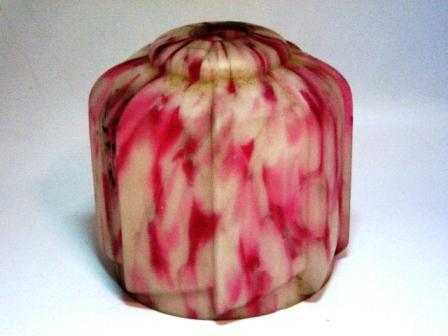 画像1: シェード ピンク・ホワイト マーブル