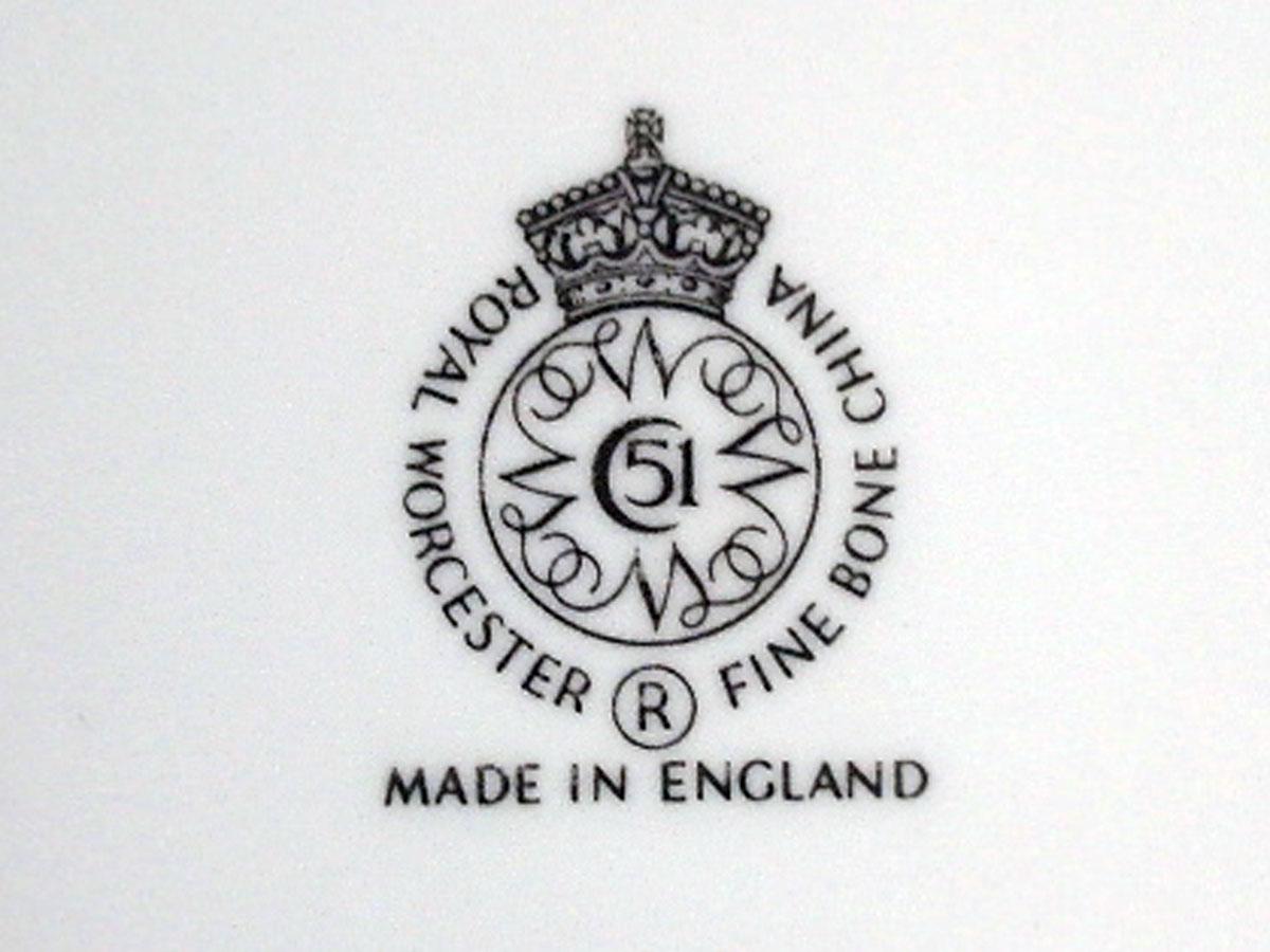 プレート オーチャード フルーツ Royal Worcester ロイヤルウスター  22金