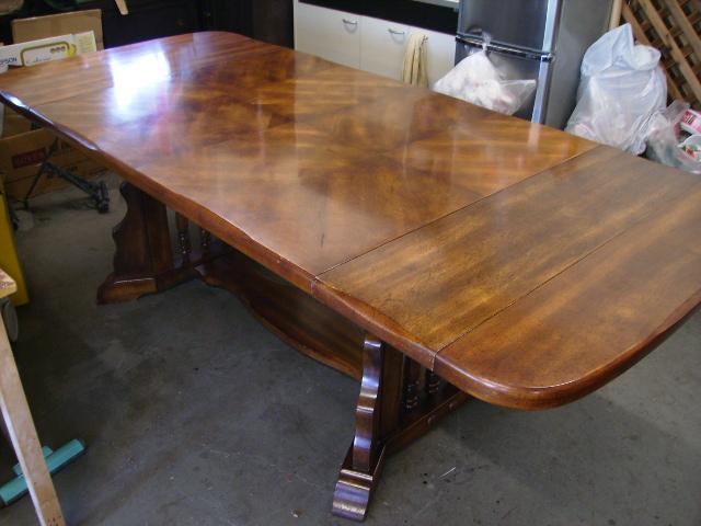 画像3: ダイニング テーブル(伸長式)+チェアー6脚セット