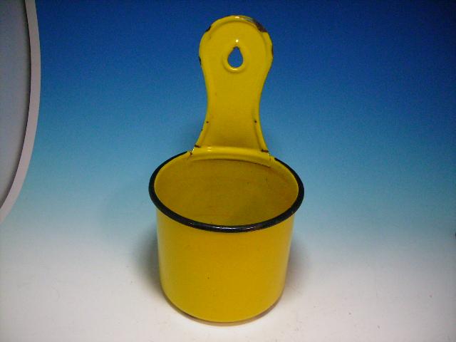 画像1: ホウロウ ガーデン&キッチン用 黄色