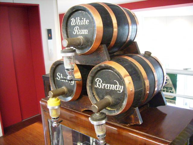 画像1: アンティーク 酒樽ミニ 3個セット