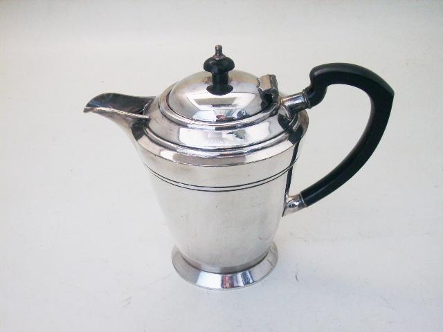 画像1: コーヒ ポット シルバープレート
