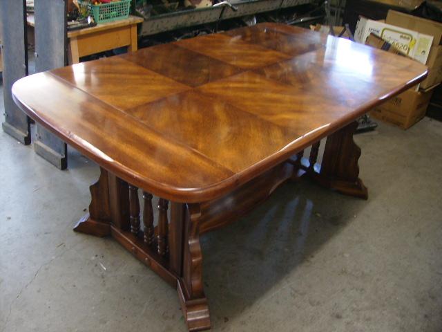 画像2: ダイニング テーブル(伸長式)+チェアー6脚セット