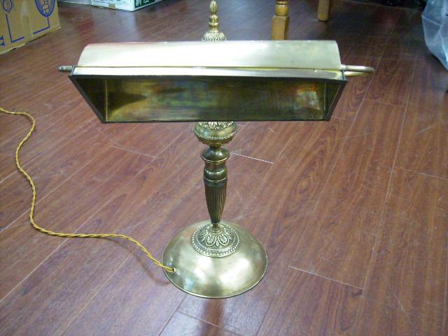 画像1: デスクランプ 真鍮