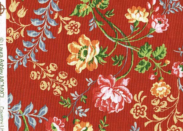 Laura Ashley red
